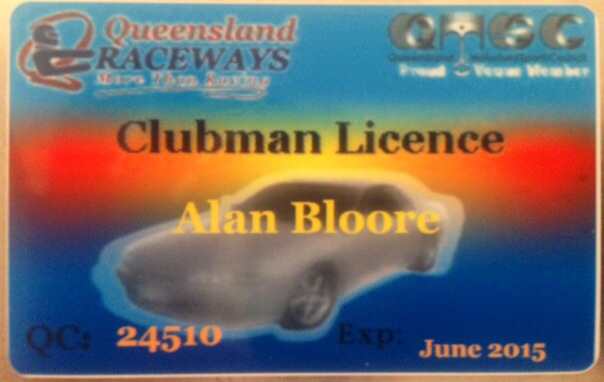 Finally , BOOYAA , My 1st Track Licence >>>