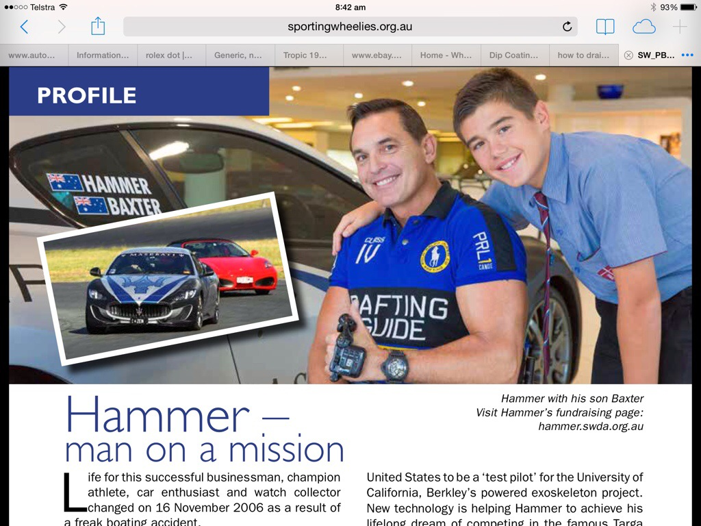 Sporting Wheelies and Disabled Assoc 'Personal Best' Mag >>>