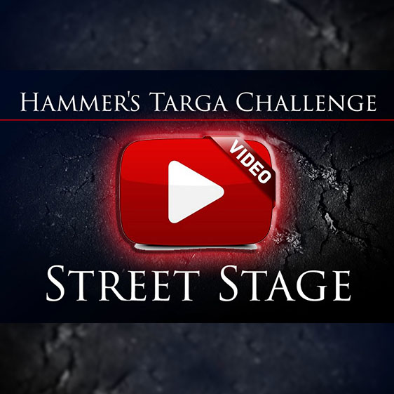 Hammer's Street Stage of TARGA 2015